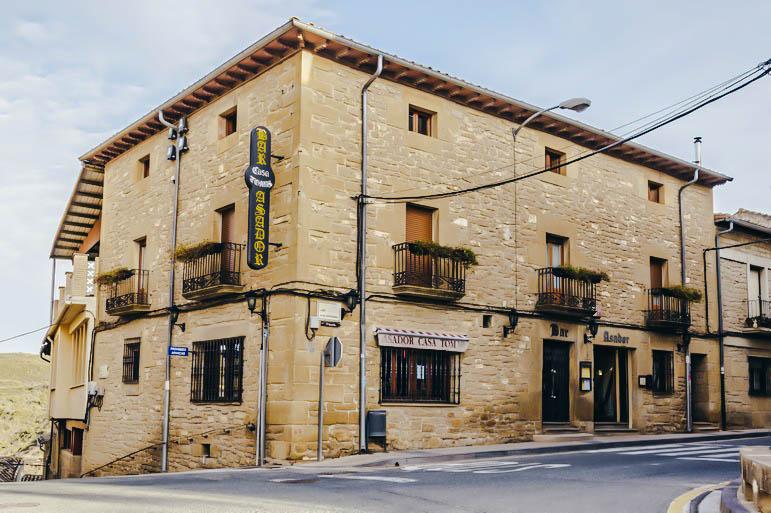 Restaurante Casa Tomas Navarra San Martin de Unx